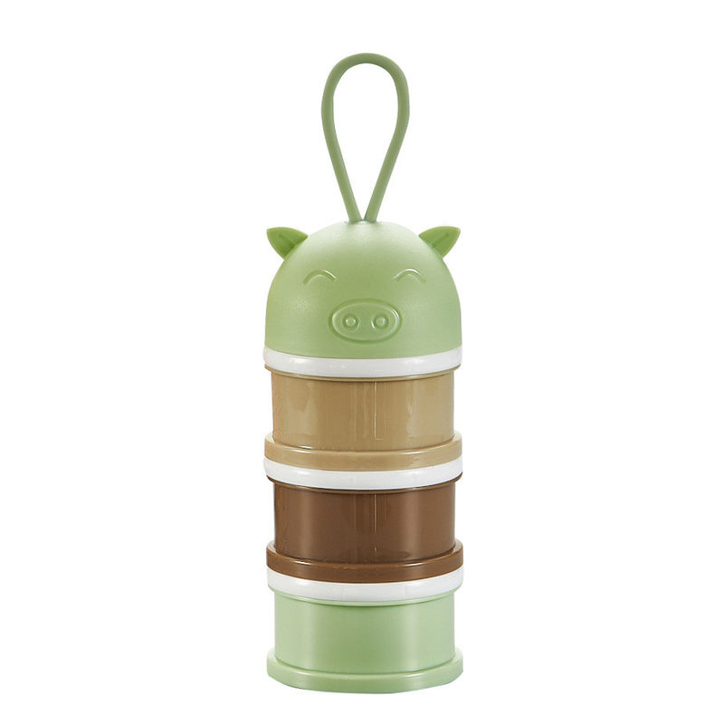 Small Baby Food Storage Container , Custom Portable Milk Powder Container