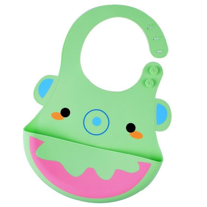 Lightweight Skip Hop Bib Silicone , Baby Food Catcher Bib Dishwasher Safe